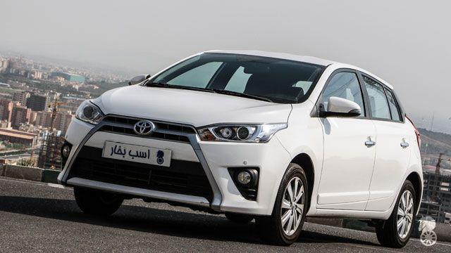 رقابت Toyota Yaris و سایپا تیبا ۲