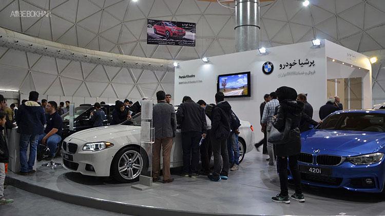 نمایشگاه توانمندی های صنعت خودرو ایران با اسب بخار