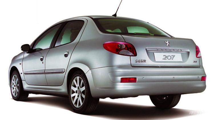 پژو 207i سدان در بازار چین حضور دارد