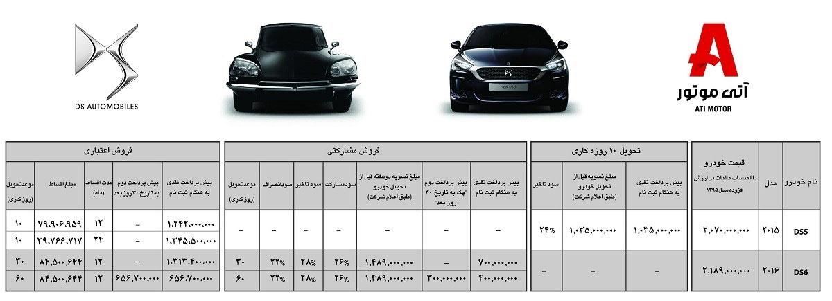 شرایط فروش جدید DS در ایران