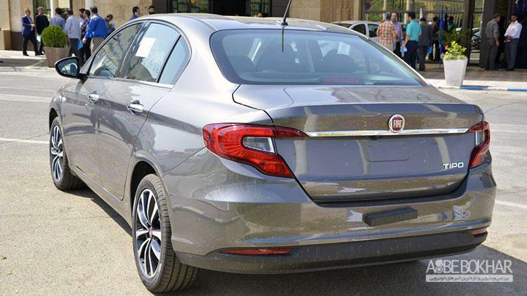 حضور اولین محصول فیات در ایران خودرو