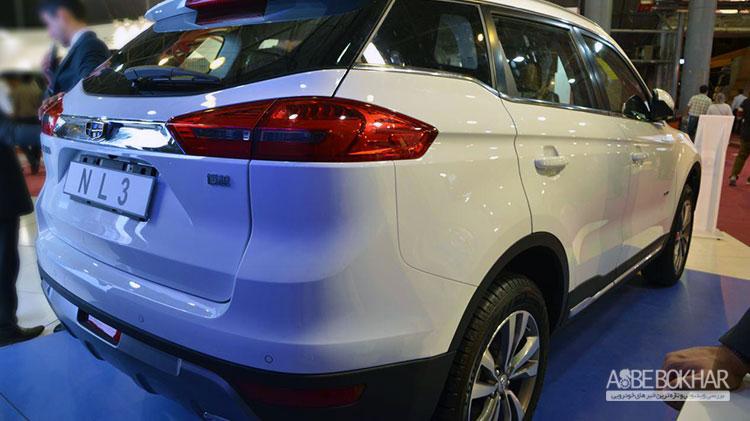 15امین نمایشگاه خودرو و قطعات شیراز: جیلی NL3