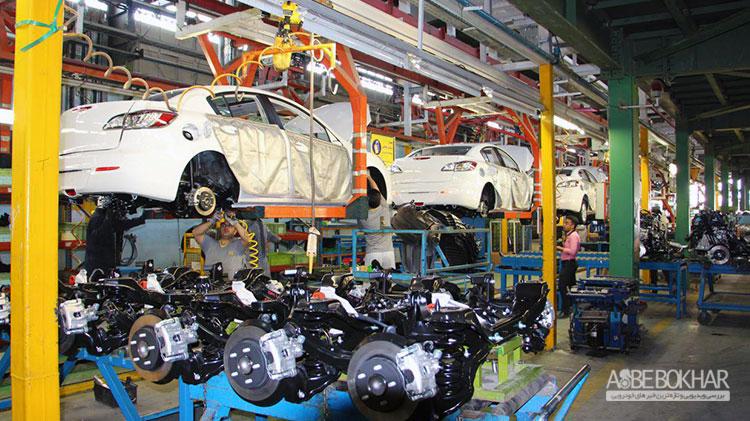توليد خودرو دركشور از مرز 368 هزار دستگاه گذشت