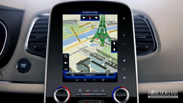 سیستم GPS رنو در ایران راه اندازی می شود