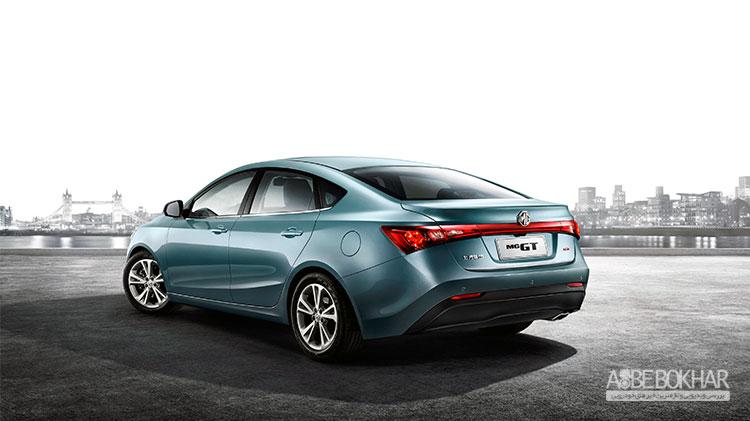 مشخصات قطعی MG GT برای بازار ایران منتشر شد