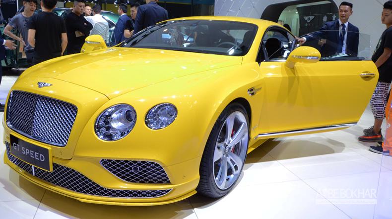 بنتلی کنتیننتال GT Speed