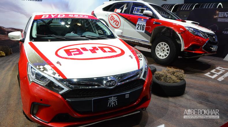 گزارش تصویری نمایشگاه خودرو گوانجو چین