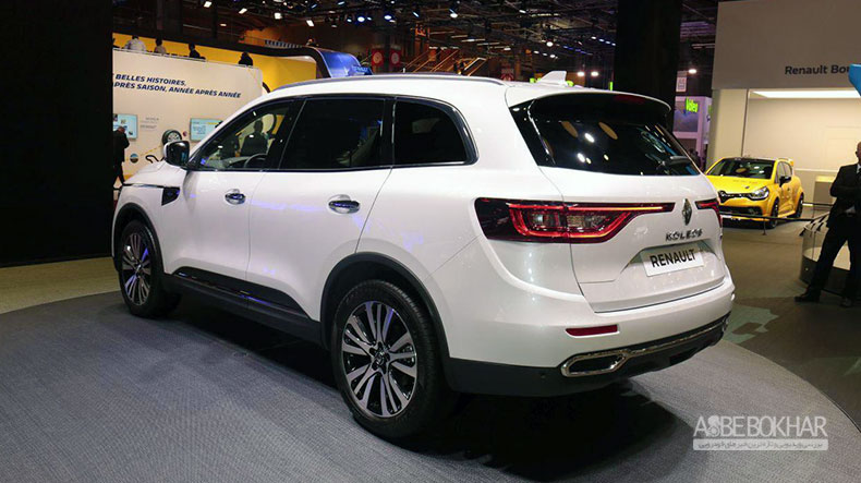 نگین خودرو با رونمایی کولئوس به نمایشگاه خودرو تهران میآید