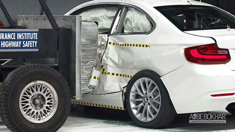 بالاترین نمرات ایمنی برای سری ۲ و ۳  BMW