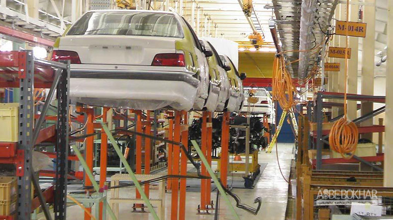خودروسازی ایران روی دنده رشد