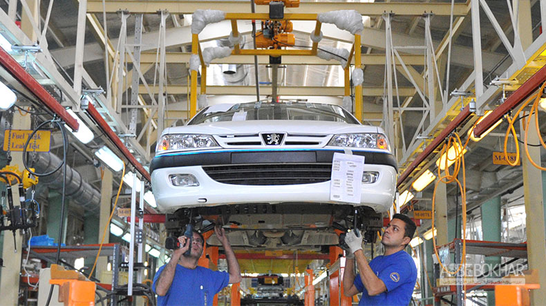 ستاره های ثابت خودروهای تولید داخل