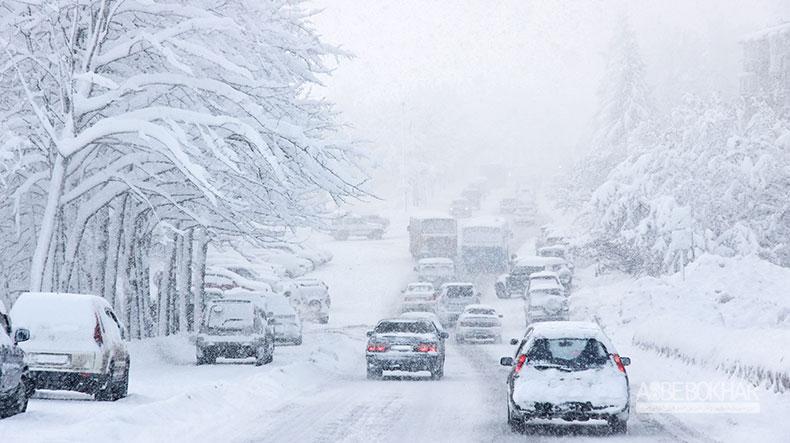 همه چیز درباره رانندگی در برف