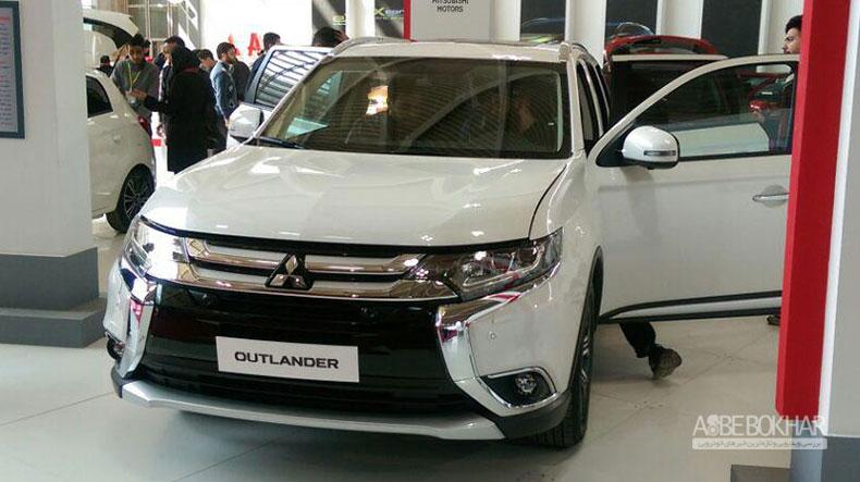 میتسوبیشی اوتلندر تیپ ۵ به نمایشگاه خودرو تهران آمد