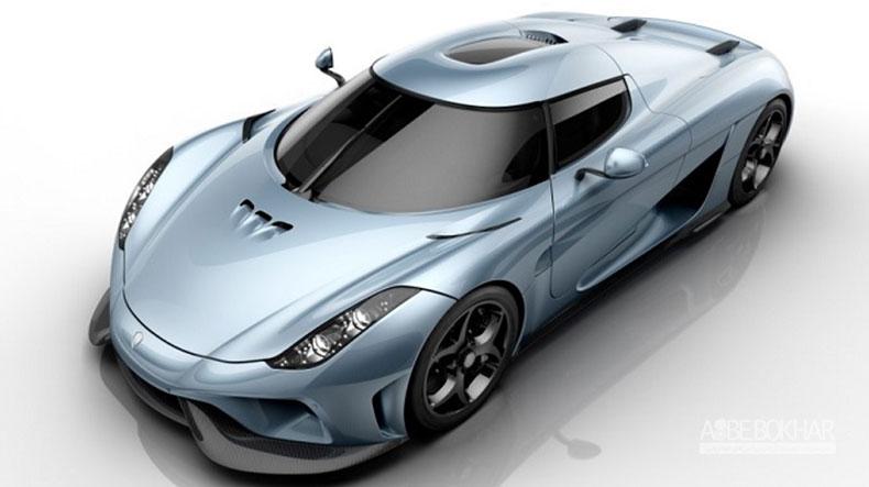 10 خودروی گران قیمت حال حاضر دنیا