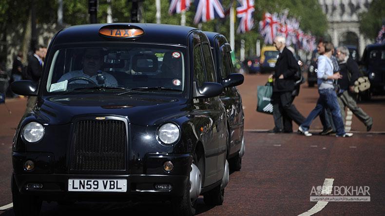 تاکسی های انگلیسی به ایران می آیند