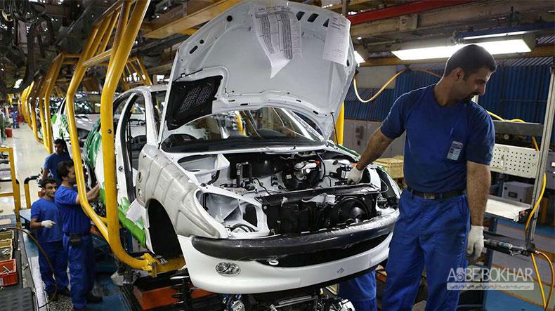 رتبه اول ایران در رشد تولید خودرو