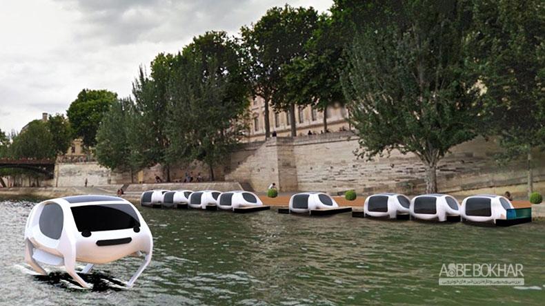 تاکسیهایی که روی آب حرکت میکنند