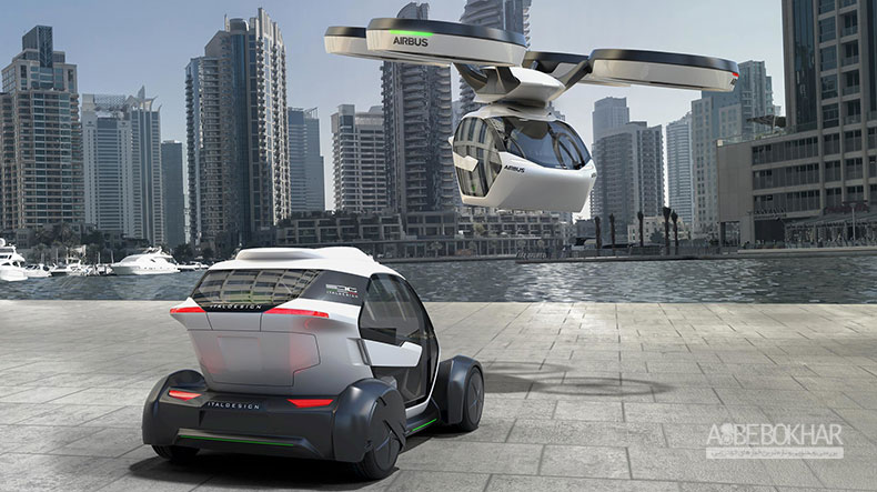 درخشش خودروی پرنده ایرباس در ژنو