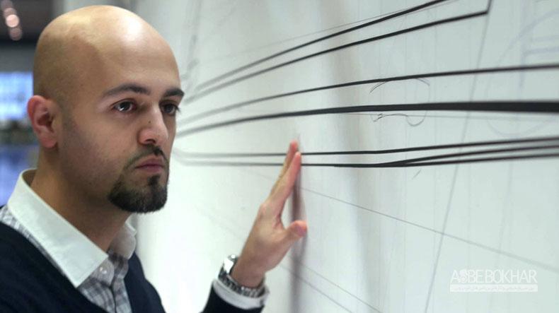 گفتگو با طراح ایرانی ب ام و