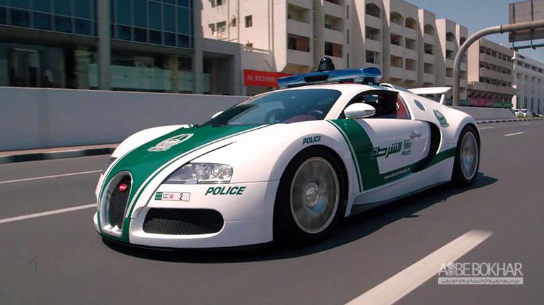 سریعترین ماشین پلیس جهان