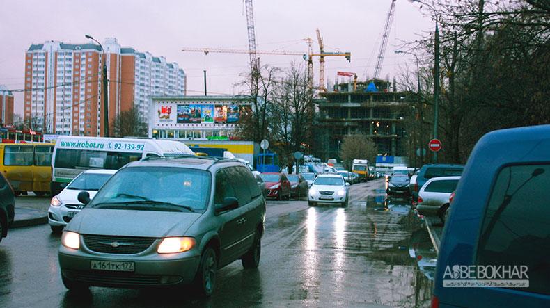 آمار خرید خودرو در روسیه ، همچنان رو به کاهش