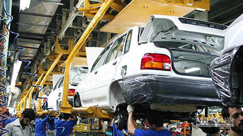 سهم خودرو تولید داخل از بازار ایران چقدر است؟!