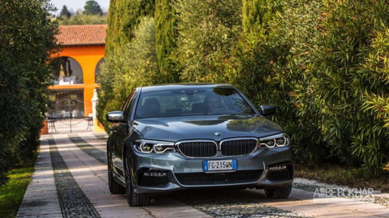 دودمان جدید BMW سری ۵ ، نامزد بهترین خودروی لوکس سال شد