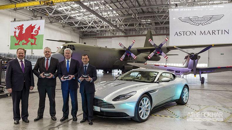 تصاحب پایگاه نیروی هوایی برای ساخت کارخانه DBX از سوی استون مارتین