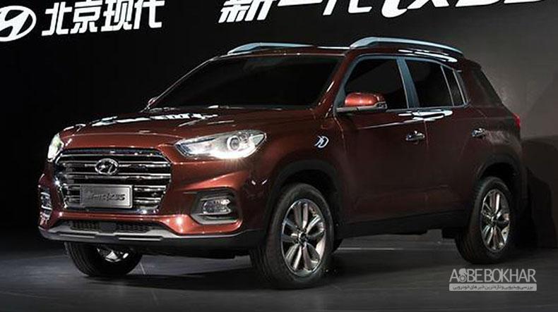 مدلهای جدید IX35 در نمایشگاه شانگهای