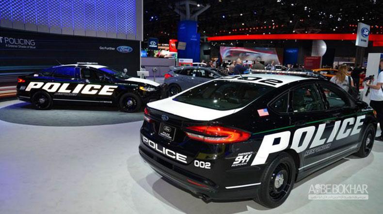 فورد از نخستین خودروی پلیس هیبریدی رونمایی کرد