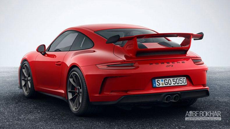 جزئیات پورشه 911 GT3 مدل ۲۰۱۸ منتشر شد