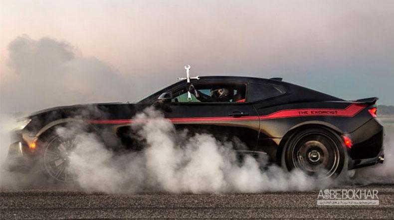 کامارو ZL1 هنسی با قدرت ۱۰۰۰ اسب بخار معرفی شد