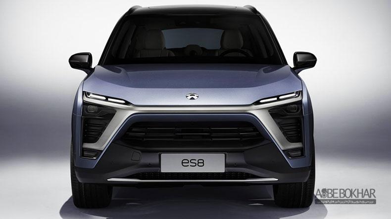 Nio ES8 اولین خودروی برقی استارتاپی