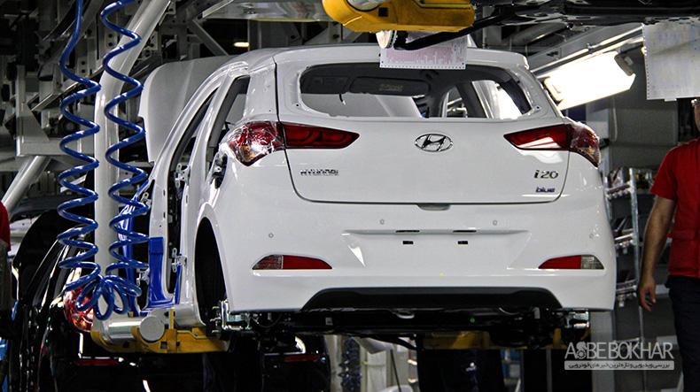تولید بیش از هزار دستگاه هیوندای در ایران