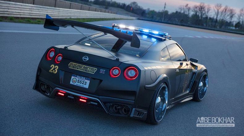 باوجود ماشین پلیس نیسان GT-R، فرار از چنگال قانون دشوارتر میشود