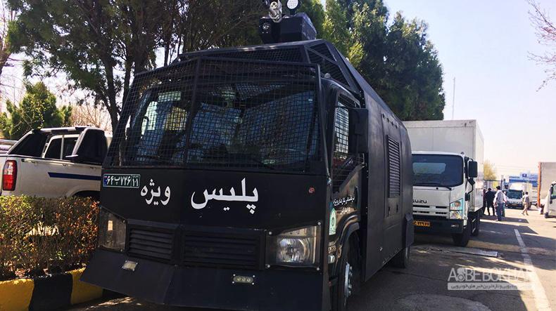 تجهیز پلیس ویژه با خودروهای گروه بهمن