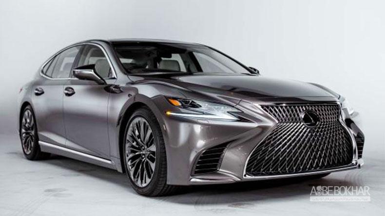 لکسوس LS 500 F Sport در نمایشگاه خودرو نیویورک رونمایی خواهد شد