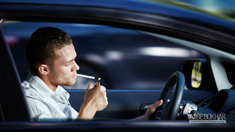 جریمه سنگین در انتظار رانندگان سیگاری امارات