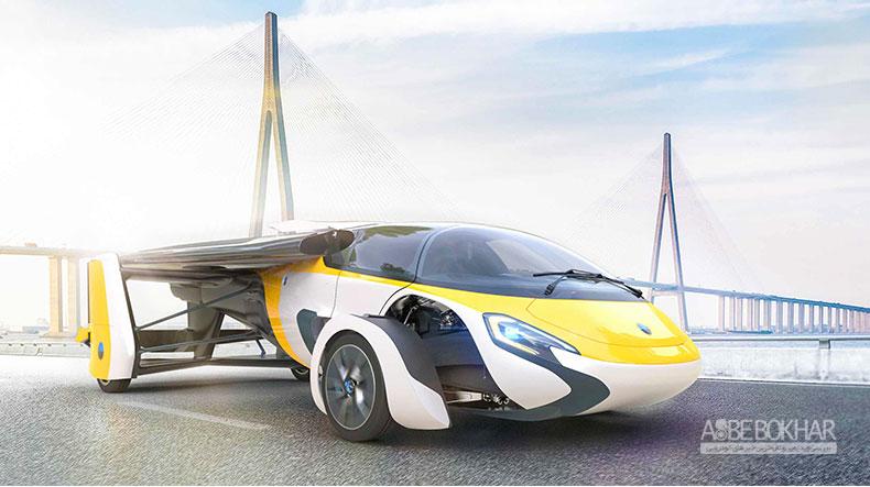نخستین خودروی پرندهی جهان آمادهی فرآوری شد
