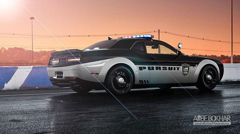 نسخهی پلیس از دوج چلنجر دیمون معرفی شد