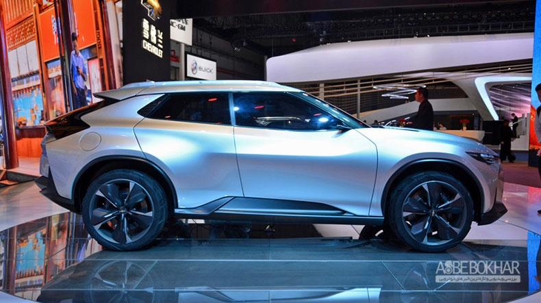 خودروی مفهومی شورولت FNR-X معرفی شد