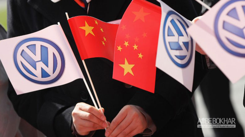 volkswagen واگن برای چین خودرو برقی میسازند
