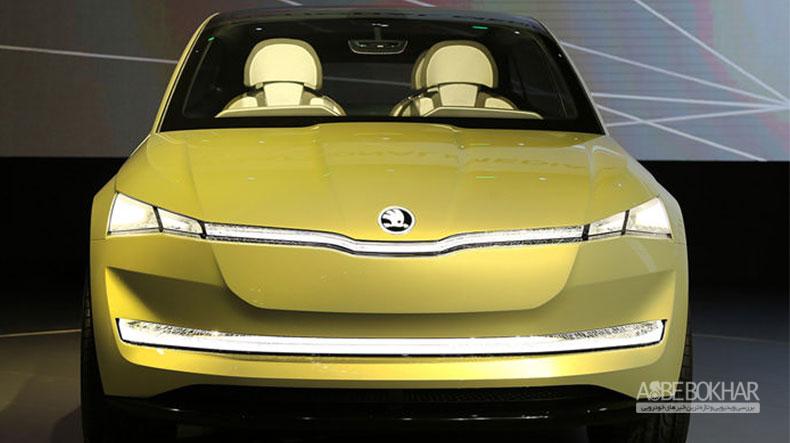 خودروی الکتریکی مفهومی اشکودا  Vision E رونمایی شد