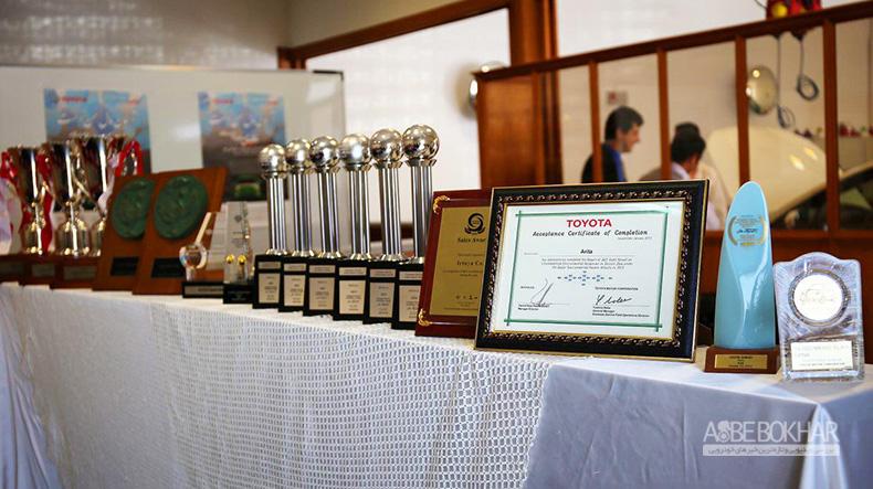 ایرتویا دوباره جایزه رضایتمندی مشتریان تویوتا را از آن خود کرد