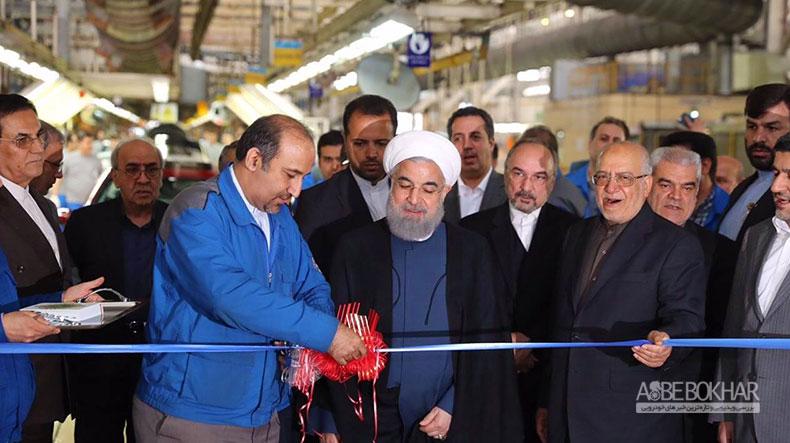 روحانی: با صادرات پژو 2008 اولین بار است که وارد رقابت جهانی صنعت خودرو میشویم