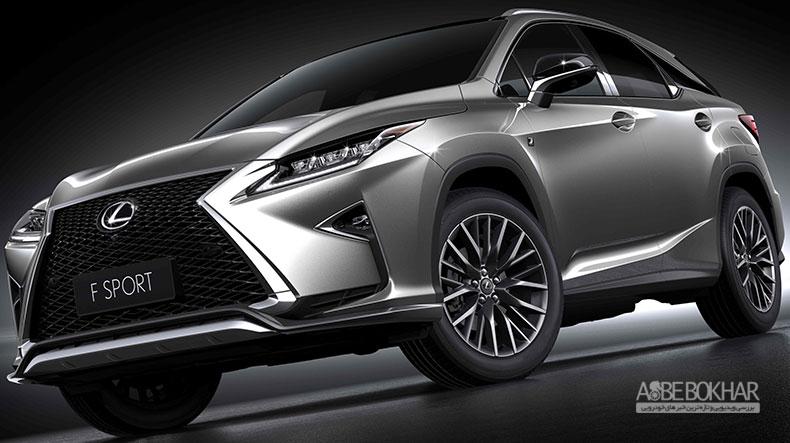 لكسوس RX جدید به ایران می آید؛ دوست داشتنی ترین کراس اوور ژاپنی بازار