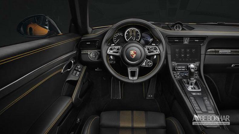 پورشه نسخهای خاص از مدل 911 توربو S معرفی کرد