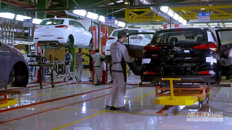 تولید پرقدرت هیوندای در سال96