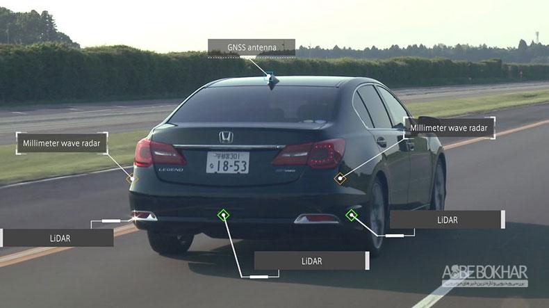 هوندا تا سال ۲۰۲۵ خودروی خودران سطح ۴ عرضه میکند