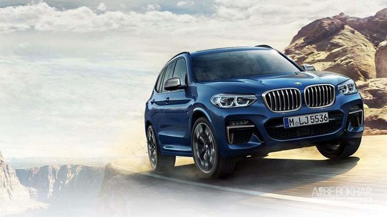 BMW از جدیدترین نسل X3 رونمایی کرد